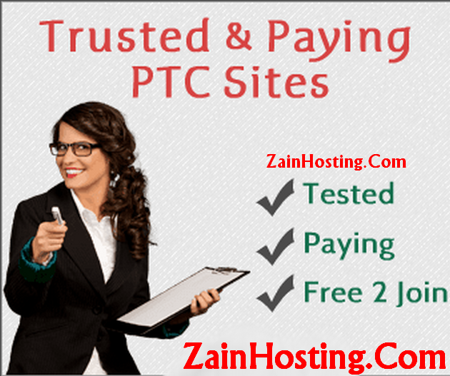 Top Paying and Trusted PTC Websites List