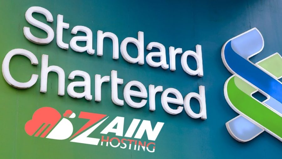 web hosting by standard chartered bank