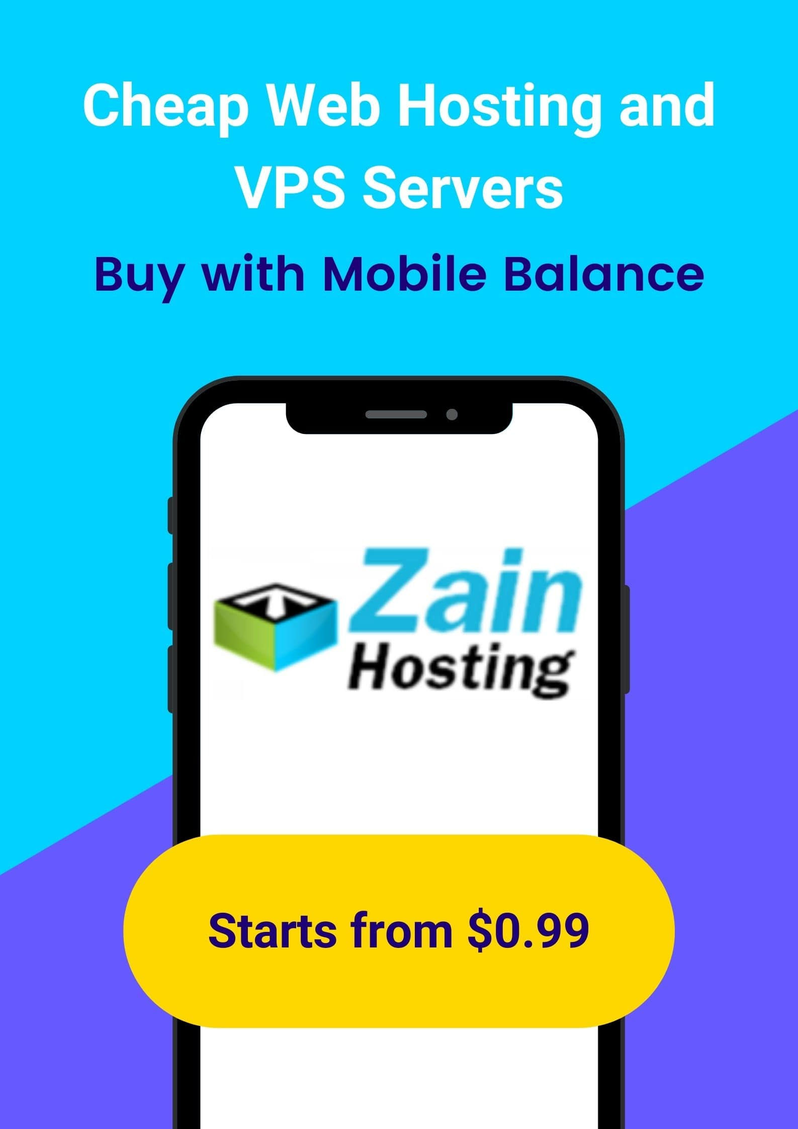 Buy Cheap Web Host with Mobile Balance