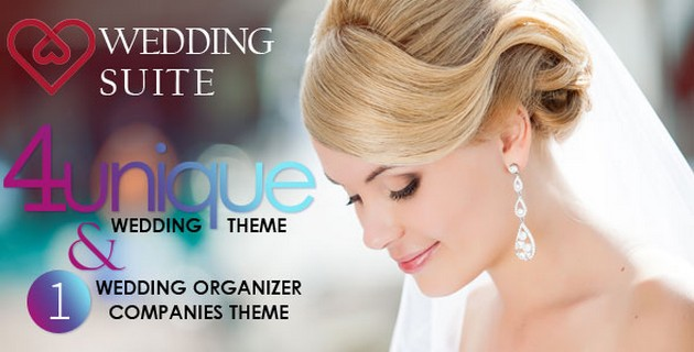 Download Free Wedding Suite v1.1.0 – WordPress Wedding Theme