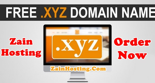Get Free .XYZ Domain Free in Pakistan