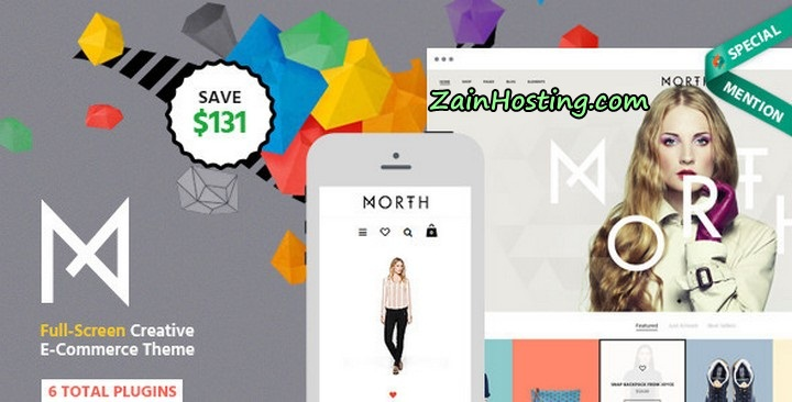 North WordPress Theme for E-Commerce Free Download