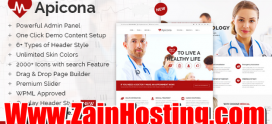 WordPress Theme for Hospital or Doctor's Website