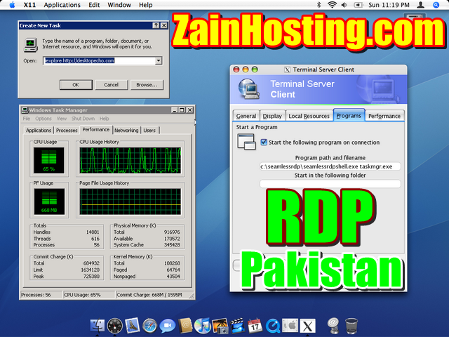 Cheap RDP (Remote Desktop Server) in Pakistan