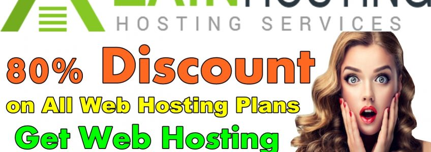 80% Off – Web Hosting in Just $1 for Year