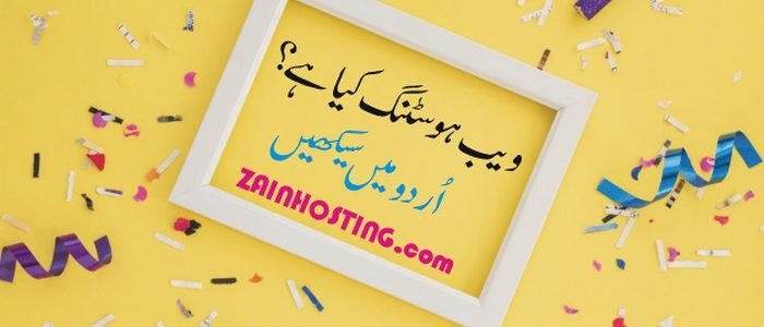 What is Web Hosting in Urdu?