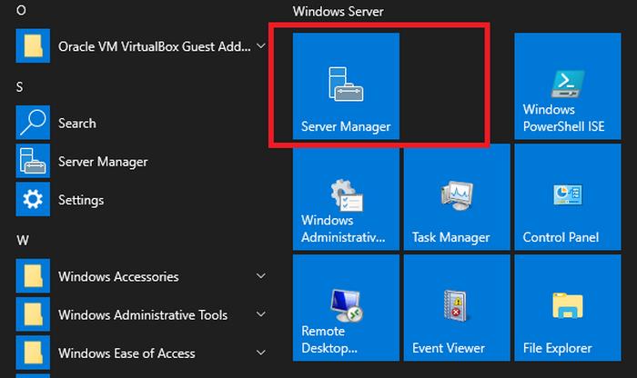 Enable Remote Desktop in Windows 2019