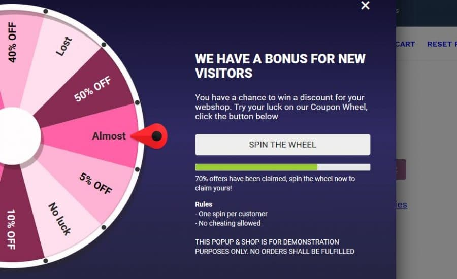 Download Coupon Wheel For WooCommerce and WordPress v3.2.0 Free