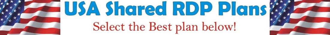 USA RDP Windows Remote Desktop Servers